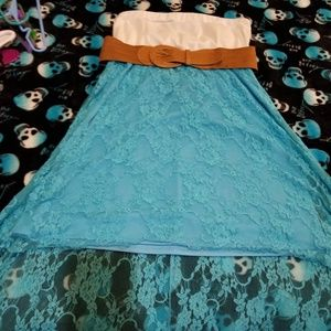 Dress with belt great condition